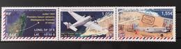 TAAF Yvette Catalog # 714-716. Strip Of Three. '54 AA/C-1 Toucan Flight Madagsgar To Tromlin. MNH (**) - Franse Zuidelijke En Antarctische Gebieden (TAAF)