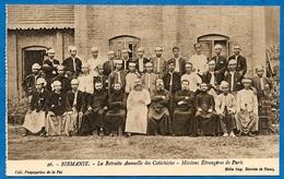CPA BIRMANIE (MYANMAR) - Retraite Annuelle Des Catéchistes - Missions Etrangères De Paris * Religion Catholique - Myanmar (Burma)