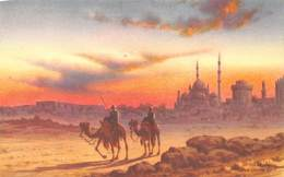 Egypte Egypt Sunset Near Citadel   M 3424 - Egypt