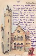 CPA Le Vieux Paris - Tour Du Louvre & Maison Aux Piliers - Ca. 1900  (50457) - Andere