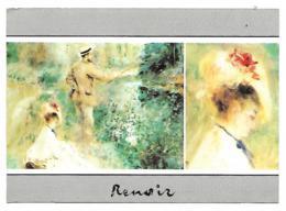 """CP RENOIR, """" LE PECHEUR A LA LIGNE """" - Paintings"""