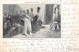 Egypte Egypt Georges Clairin , Le Depart Des Conscrits A Lougsor Luxor  Anno 1900   M 3436 - Luxor