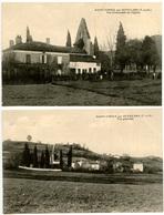 AUVILLAR - Saint-Cirice Par AUVILLARS - 2 Cartes - Peu Courantes - Voir Scan - Auvillar