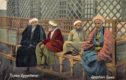 Egypte Egypt Types Egyptiens    M 3438 - Persons