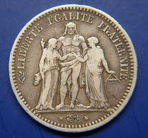 5 Francs Argent 1849 A - J. 5 Franchi