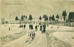 Cpa NATZWILER 67 Wintersport Beim Struthof - France