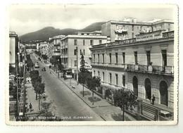 """8212""""RESINA(DAL 1969 ERCOLANO)-VIA IV NOVEMBRE-SCUOLE ELEMENTARI"""" ANIMATA -CARTOLINA POST.ORIG. NON SPED. - Ercolano"""