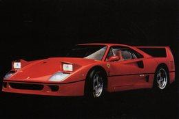 MOTOR CARS - AUTOMOBILI - FERRARI F 40 - N 073 - Cartoline