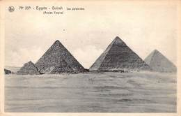Egypte Egypt  Guizah Les Pyramides Ancien Empire    M 3462 - Pyramids