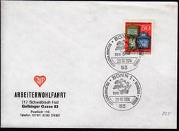 Germany Bonn 1974 / UPU, Universal Postal Union, 100th Anniversary - UPU (Union Postale Universelle)