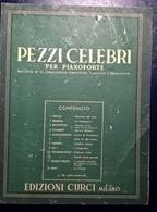 PEZZI CELEBRI - CURCI - Partitions Musicales Anciennes