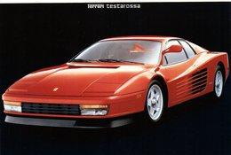 MOTOR CARS - AUTOMOBILI - FERRARI TESTAROSSA - N 075 - Cartoline