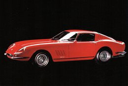 MOTOR CARS - AUTOMOBILI - FERRARI - N 076 - Cartoline