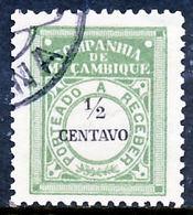 !■■■■■ds■■ Company Postage Due 1916 AF#21ø Centavos 1/2 Centavo (X13009) - Mozambique