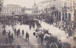1922 SUZZARA Funerali Del Compianto Marcheselli W. Nuova - Mantova