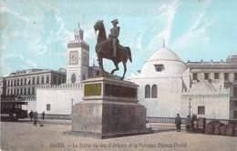 ALGERIE - ALGER : La Statue Du Duc D'Orleans - Jolie CPA Colorisée - Afrique Du Nord - Maghreb - Algeri