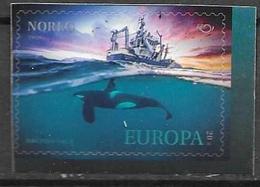 NORWAY, 2020, MNH, MARINE MAMMALS, WHALES, ORCAS, SHIPS, 1v - Balene