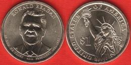 """USA 1 Dollar 2016 D Mint """"Ronald Reagan"""" UNC - EDICIONES FEDERALES"""