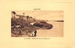 Egypt Egypte  Caïro Cairo Bord Du Nil Au Boulac      M 3488 - El Cairo