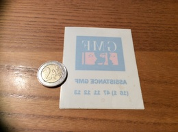 AUTOCOLLANT, Sticker Inversé «ASSISTANCE GMF» - Pegatinas