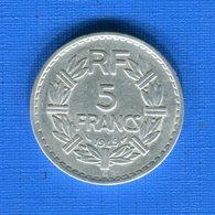 5  Fr  All  1945 C - France
