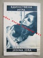The Only Game In Town (1970) / George Stevens:  Elizabeth Taylor, Warren Beatty MAKEDONIJA Film ( American Film ) - Programs