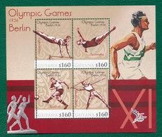 MNH SHEET  OLYMPIC    DISCUS GYMNASTICS   SOCCER - Gymnastik