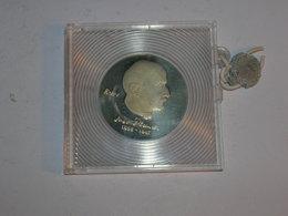 ALEMANIA/RDA PRUEBA EN ESTUCHE ORIGINAL 5 MARCOS 1983 Km 91 (1422) - [ 6] 1949-1990 : GDR - German Dem. Rep.
