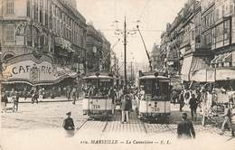 13 Marseille La Rue Cannebiere Canebiere  Tram Tramway - Canebière, Stadscentrum