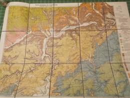 Map, Diekirch , Luxembourg, 1.2mx 80cm - Cartes Postales