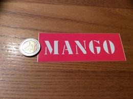 AUTOCOLLANT, Sticker «MANGO (Rose)» (vêtements) - Pegatinas