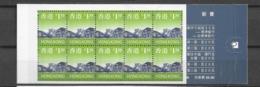 1997 MNH Hong Kong Booklet Mi 794 - 1997-... Sonderverwaltungszone Der China