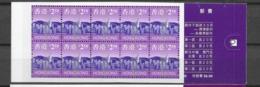 1997 MNH Hong Kong Booklet Mi 799 - 1997-... Sonderverwaltungszone Der China