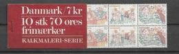1973 MNH Denmark Booklet - Markenheftchen