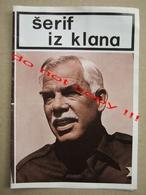 The Klansman (1974) / Terence Young: Lee Marvin, Richard Burton Croatia Film ( American Film ) - Programs