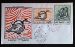 "San Marino, Uncirculated FDC, ""Arte Etrusca"", 1971 - FDC"