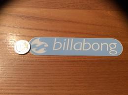 AUTOCOLLANT, Sticker «billabong» (vêtements) - Pegatinas