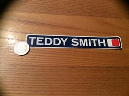 AUTOCOLLANT, Sticker *x «TEDDY SMITH» (vêtements) - Pegatinas