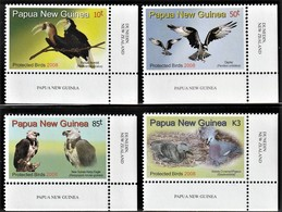 2008 Papua New Guinea Protected Birds Set, Minisheet And Souvenir Sheet (** / MNH / UMM) - Unclassified