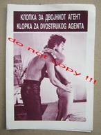 Kill! Kill! Kill! Kill! (1971) / Romain Gary: Stephen Boyd, Jean Seberg, James Mason MAKEDONIJA Film - Programs