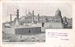 Egypt Egypte  Caïro Cairo Le Caire Kairo Verlag Der Ersten Internationalen Ansichkarten ANNO 1898    M 3498 - Cairo