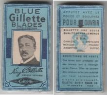 Lames De Rasoir BLUE GILLETTE . Paquet Neuf De 5 Lames. - Razor Blades