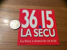 AUTOCOLLANT, Sticker «36 15 LA SECU» Grand - Pegatinas