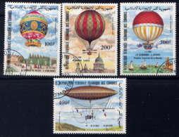 COMORES - A193/196° - AEROSTATION - Komoren (1975-...)