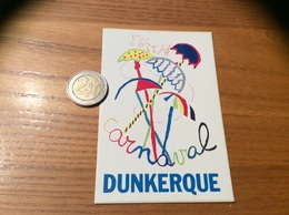 AUTOCOLLANT, Sticker «carnaval DUNKERQUE (59)» - Pegatinas