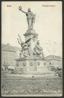 ROMANIA ARAD Martyr Statue Sculpture Old Postcard (see Sales Conditions) 01987 - Romania