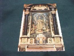 CHIESA EGLISE KIRCHE CHURCH INTERNO ARONA S.CARLO LAGO MAGGIORE CHIESA DEL SACRO MONTE ALTARE MAGGIORE S.CARLO E ANGELI - Chiese E Cattedrali