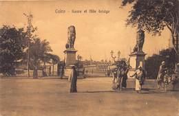 Egypt Egypte  Caïro Cairo Kasre El Nile Brudge        M 3524 - Cairo