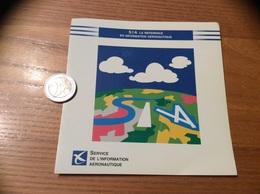 AUTOCOLLANT, Sticker * «SIA - SERVICE DE L'INFORMATION AERONAUTIQUE» - Pegatinas