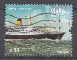 Portugal-Azoren 2012  Mi.Nr: 577 Europa: Passagierschiff  Oblitèré / Used / Gebruikt - Azoren
